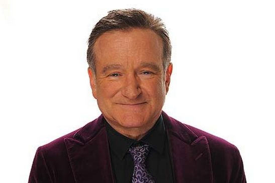 Comediante Robin Williams.